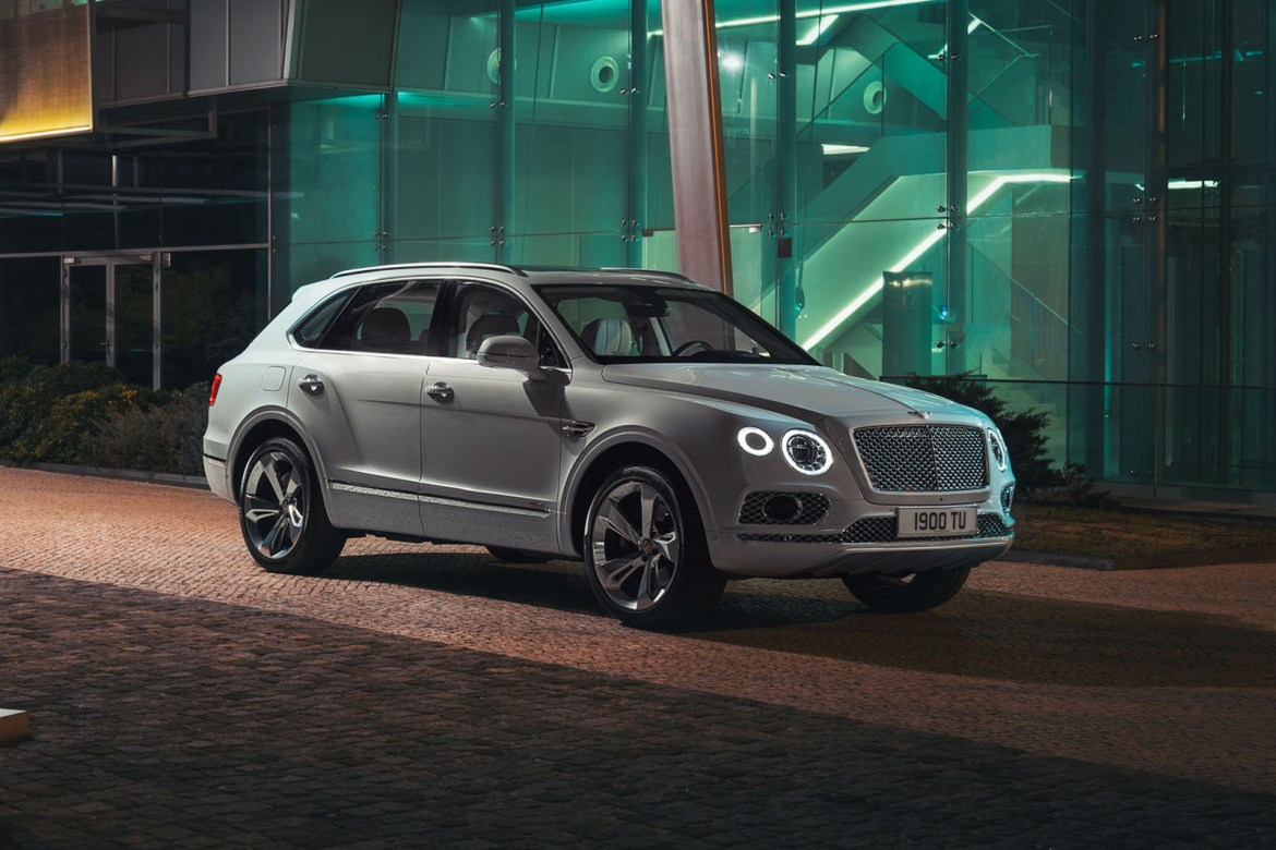Ženeva 2018.: Bentley Bentayga Plug-In Hybrid
