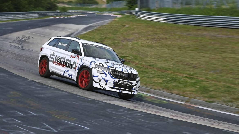 Kodiaq RS skinuo rekord Nurburgringa