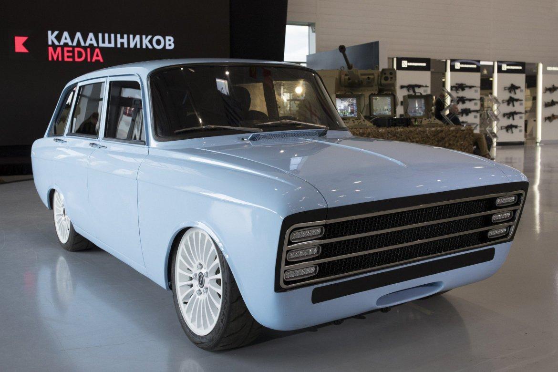 Ruski Kalashnikov predstavio koncept električnog automobila