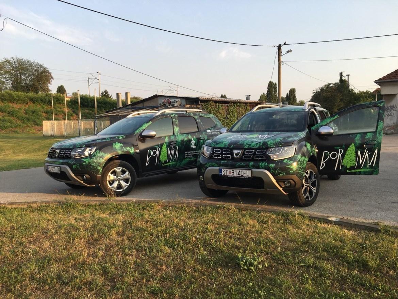 """Dacia u projektu """"Boranka"""""""