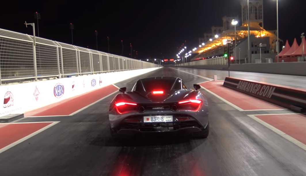 Tunirani McLaren 720S prelazi 402 metra za 9,6 sekundi