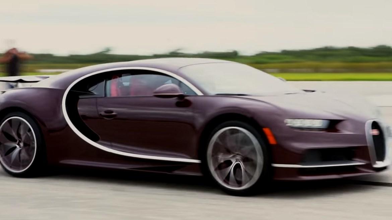 Video: Ovako Bugatti Chiron juri 420 km/h