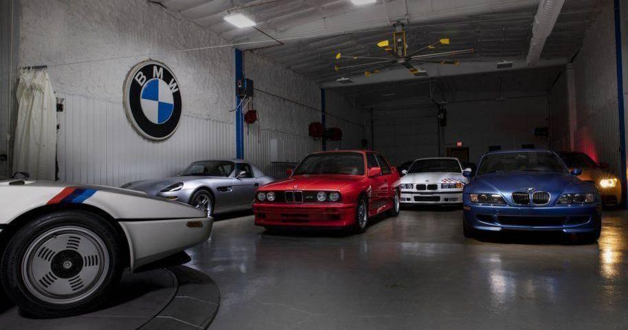 BMW fanovi sjednite prije pogleda u ovu garažu