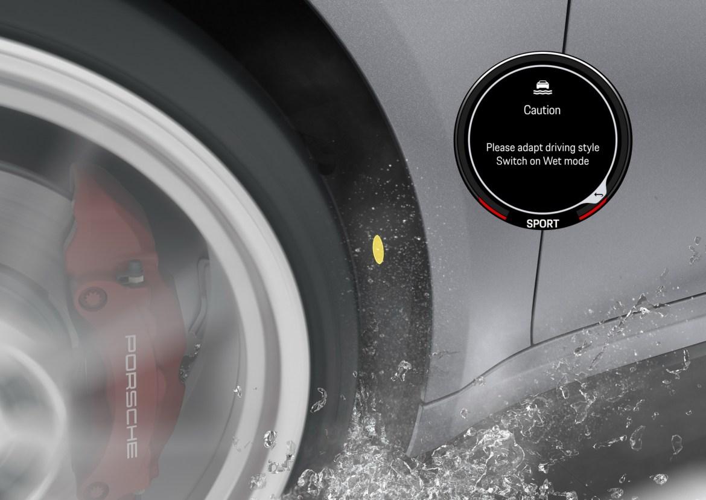 Novi Porsche 911 ima sustav za prepoznavanje mokre ceste