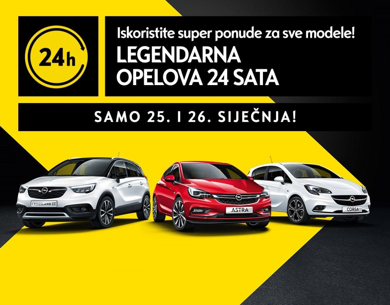 Legendarna Opelova 24 sata!