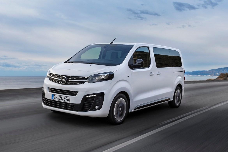 Nova Opel Zafira Life: četvrta generacija