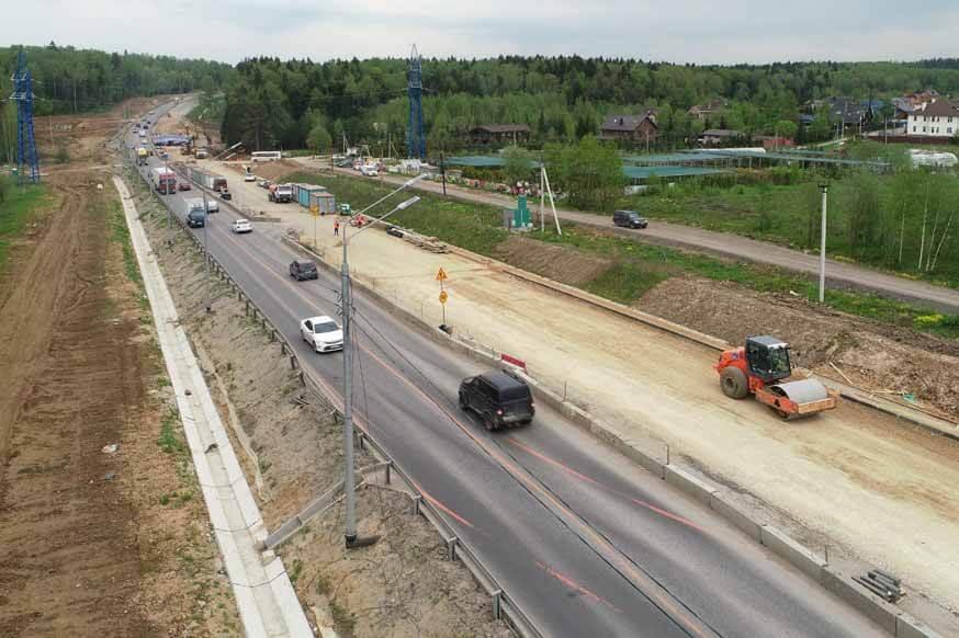Новый участок Центральной кольцевой дороги соединит платную дорогу М-11 Нева с ее бесплатным дублером - М-10 Россия