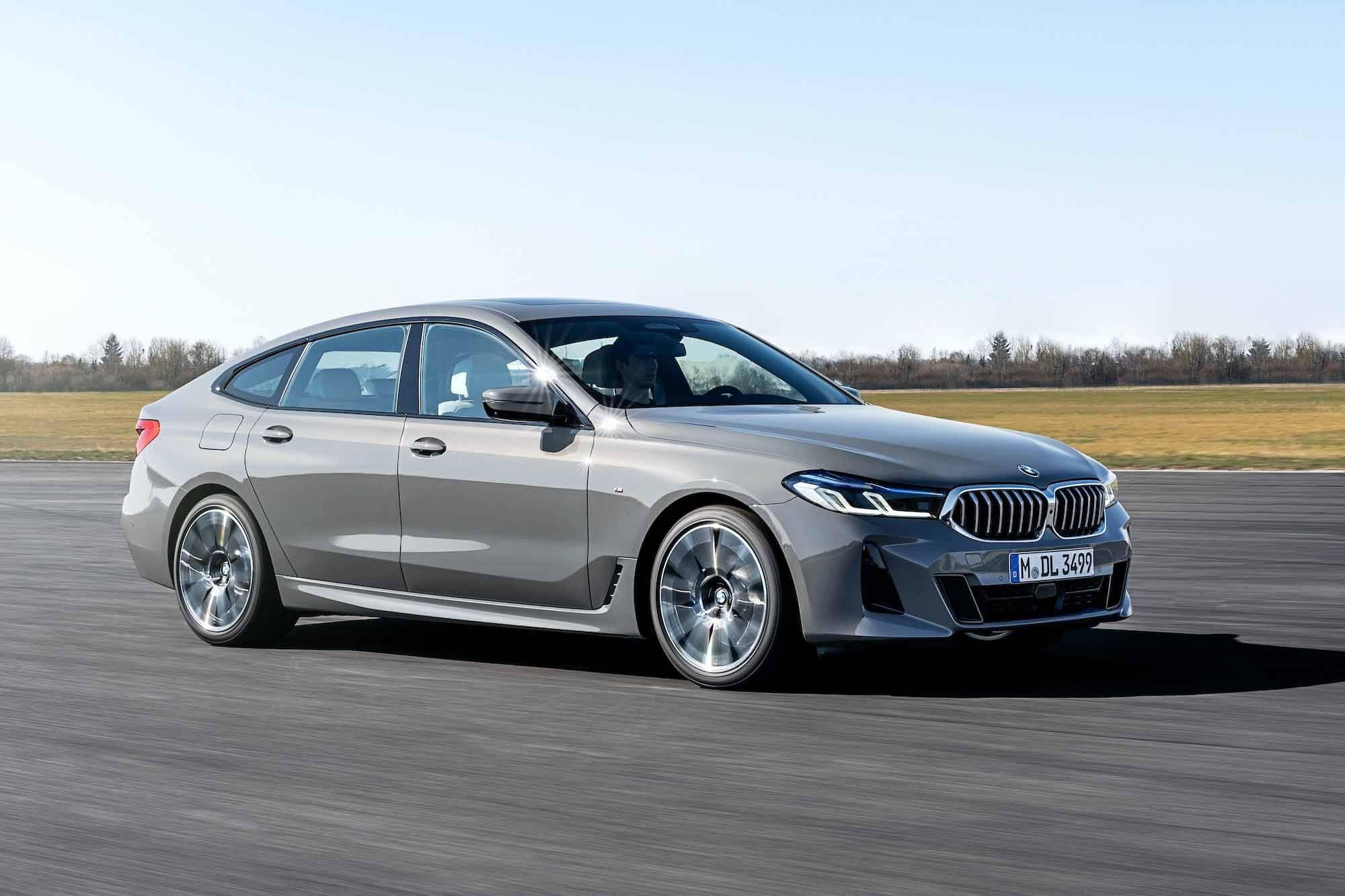 Обновленный BMW 6 серии GT: купе-лифт не подключился к розетке