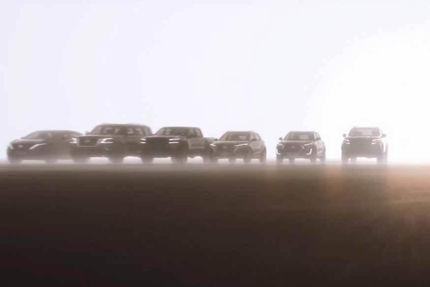 Nissan «набил» следующие Qashqai, X-Trail, Note и еще 9 новых продуктов в одном видео