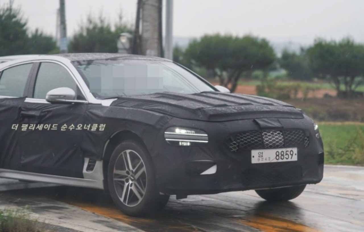 Универсал или фастбэк? В Корее тестируют новый Genesis G70 2021
