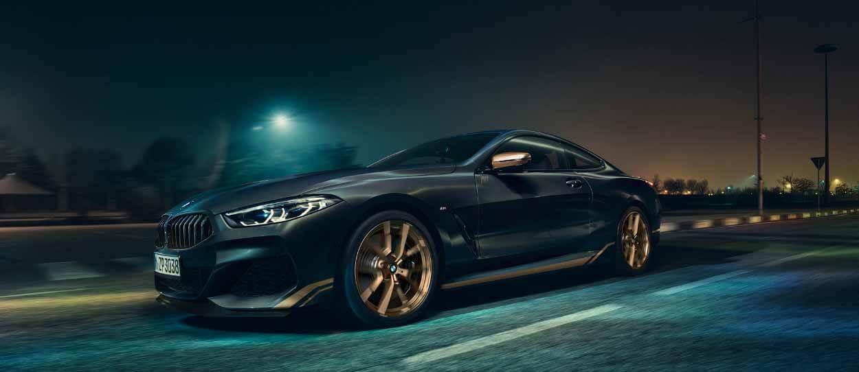 BMW 8 Golden Thunder