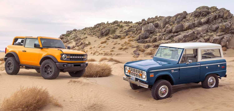 Ford возродил легендарный внедорожник Bronco