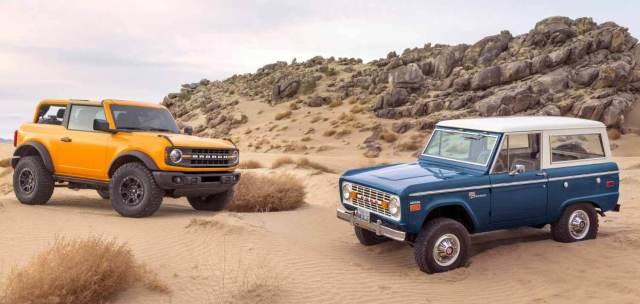 Ford возрождает легендарный внедорожник Bronco