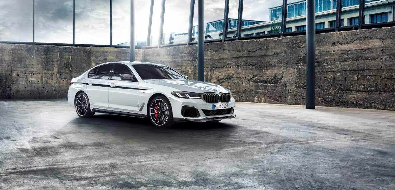 Обновленный BMW 5 серии получает аксессуары M Performance