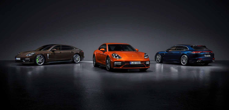 Porsche обновил семейство Panamera - Двигатель