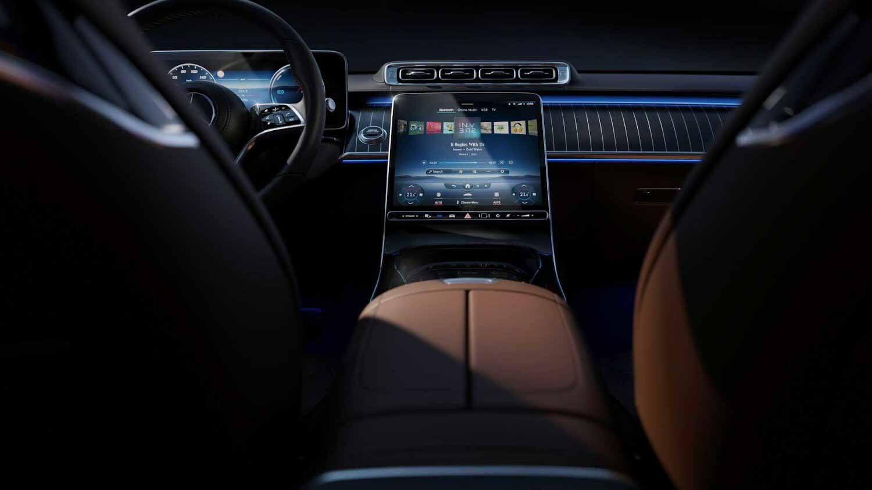 Интерьер нового поколения Mercedes-Benz S-Class