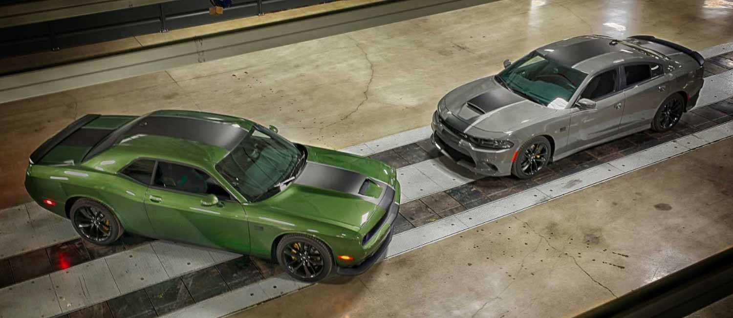 Dodge Dedicates Military Special Challenger and Charger - Двигатель