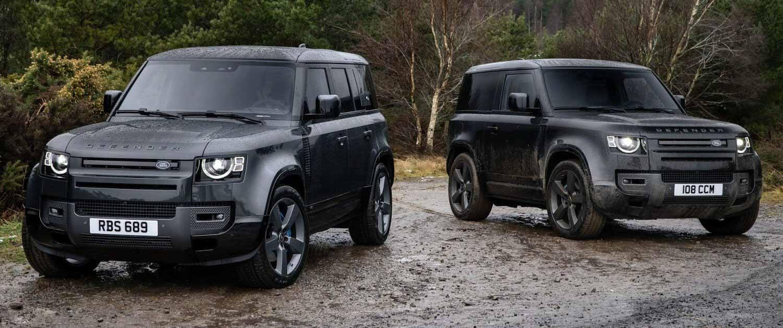 Land Rover Defender с V8