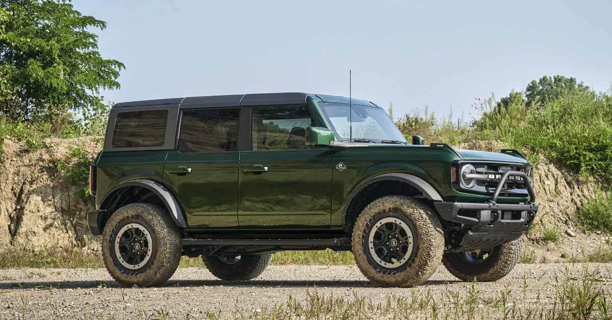 Новый Ford Bronco будет окрашен в цвет внедорожников первого поколения - Motor