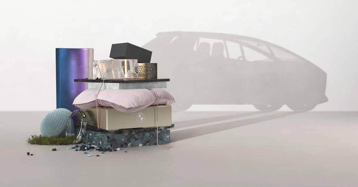 BMW построила автомобиль полностью из переработанных материалов - Motor