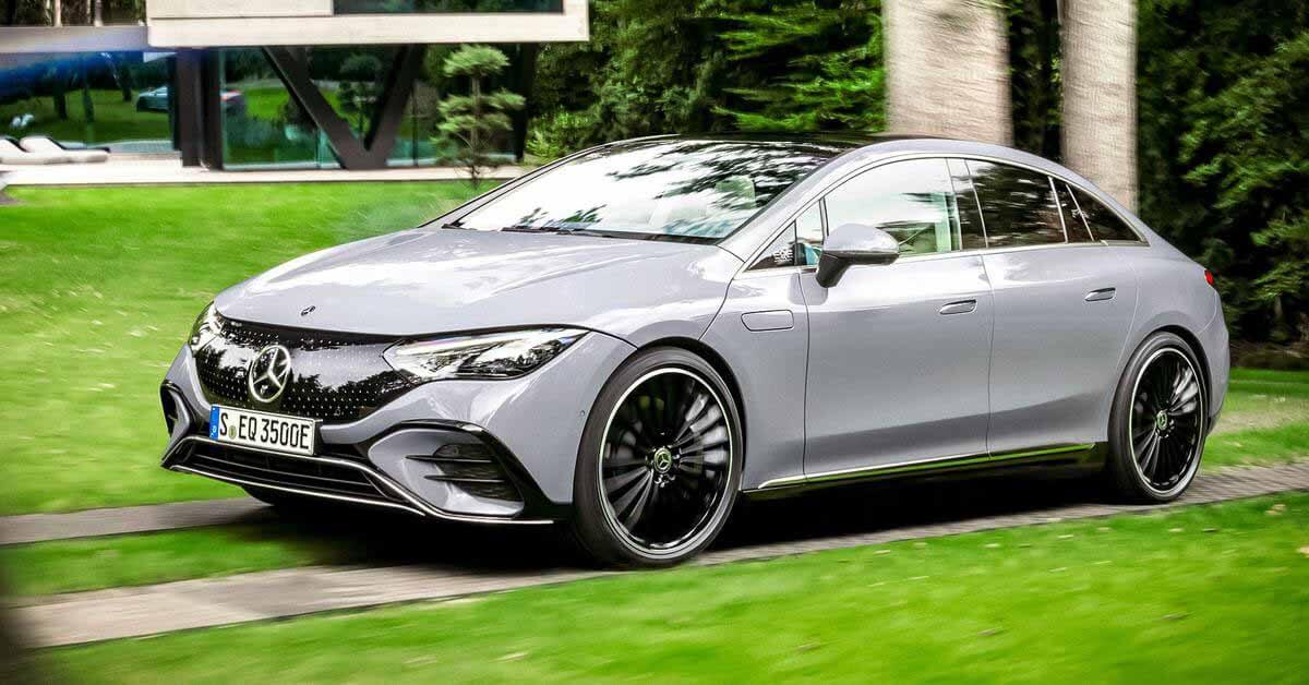 Mercedes-Benz представляет электрический седан EQE - Motor