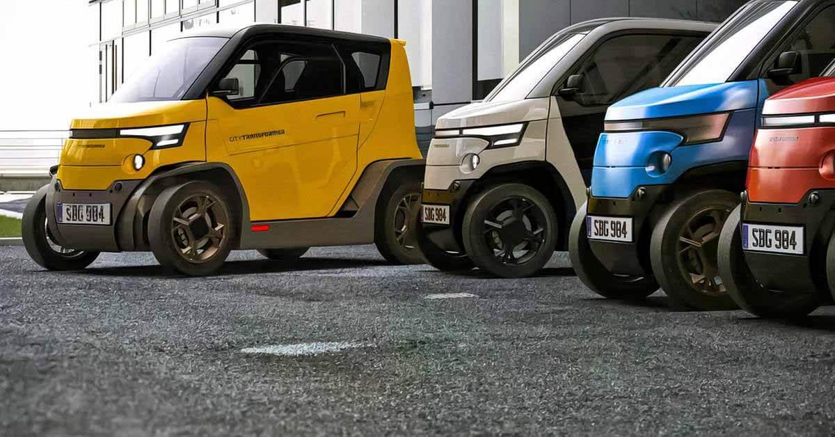 Посмотрите на крошечный электромобиль, который может стать еще меньше - Motor