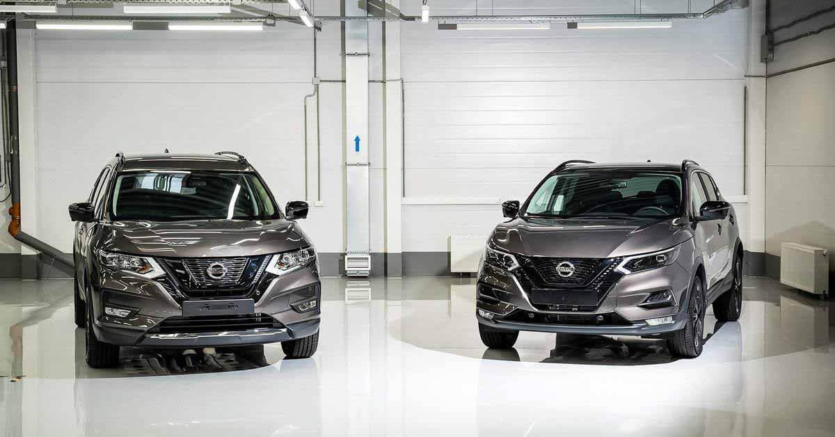 Российские Nissan Qashqai и X-Trail обзавелись стильной версией - Motor