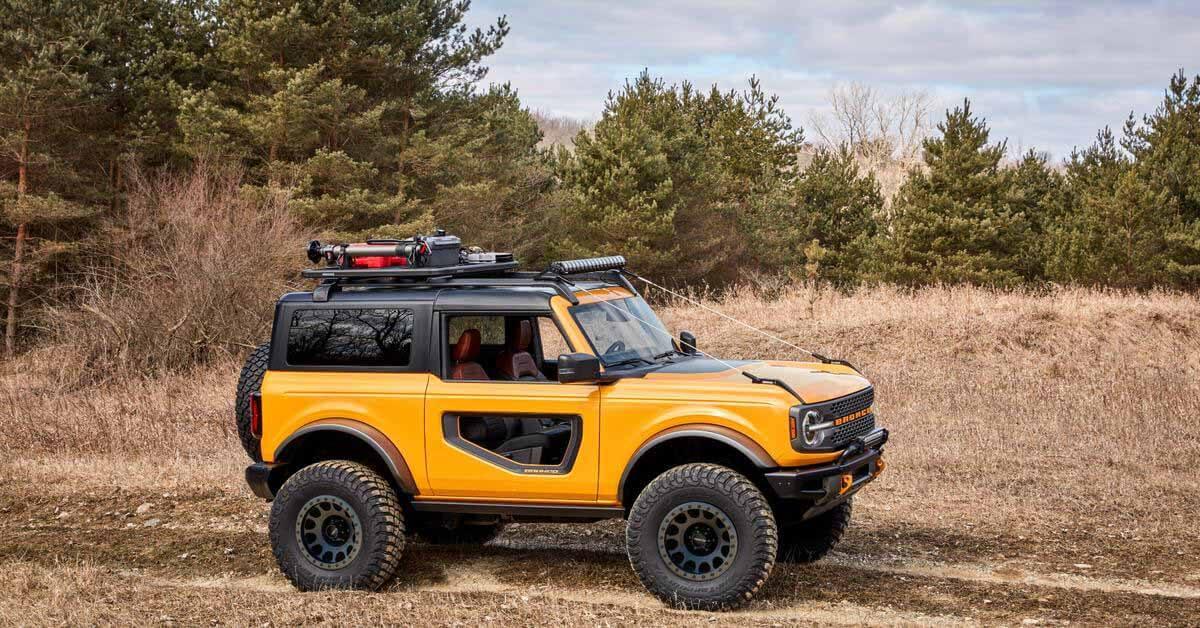 Ford не исключил появления Bronco в Европе - Motor