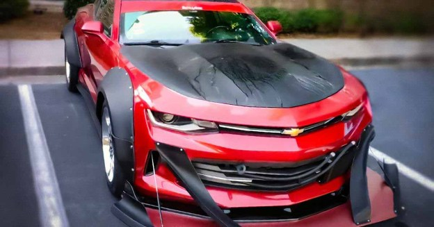 Посмотрите на очень странный Chevrolet Camaro, похожий на снегоочиститель - Motor
