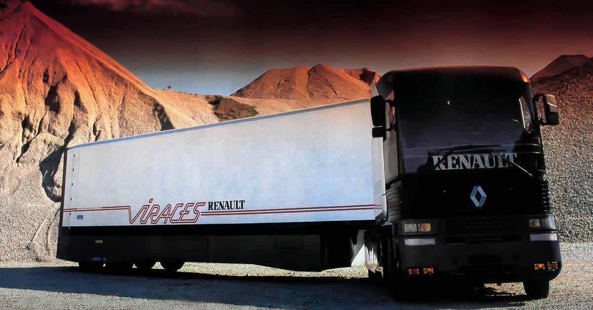 Забытые концепции: грузовики будущего Renault VIRAGES