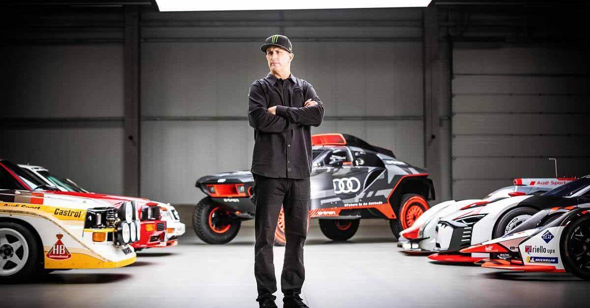 Кен Блок поможет Audi в разработке спортивных электромобилей - Motor