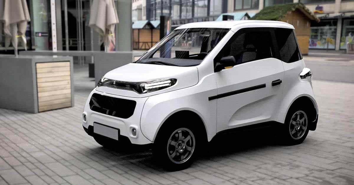 Минпромторг объявил о скором выпуске российского электромобиля Zetta - Motor