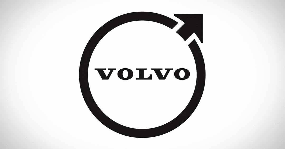 Volvo показала новый логотип.  Теперь плоско - Мотор