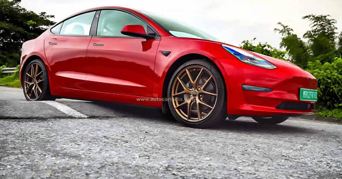 Tesla Model 3 не может выйти на рынок Индии из-за низкого дорожного просвета - Motor