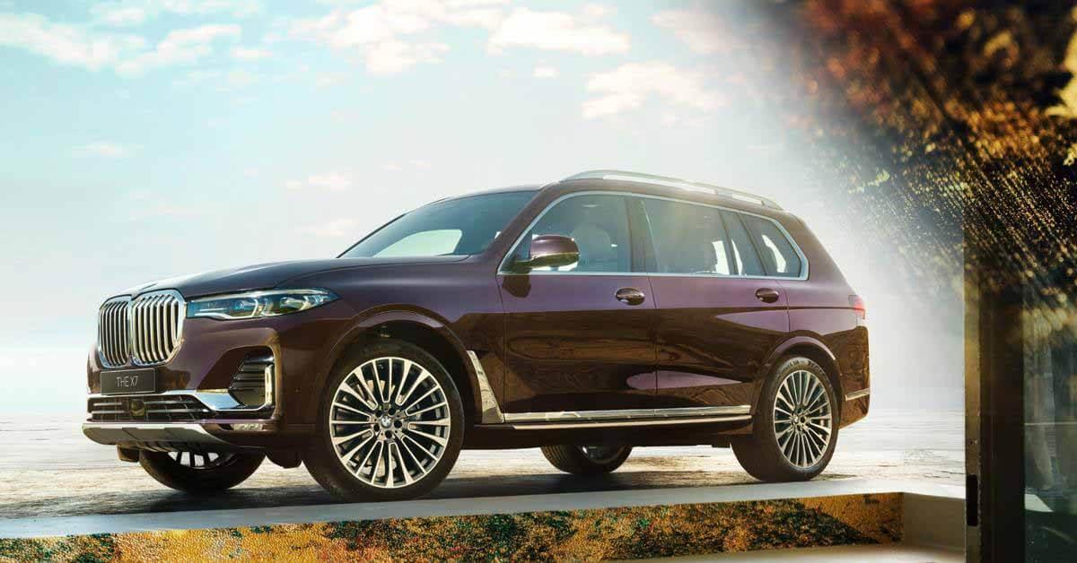 BMW X7 имеет редкую для Японии версию - Motor