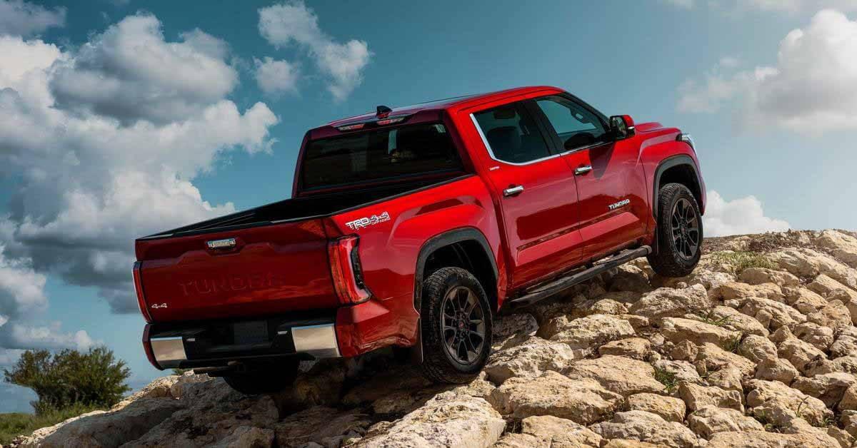 Toyota тестирует новую Tundra, сбросив 200 кг с высоты - Motor