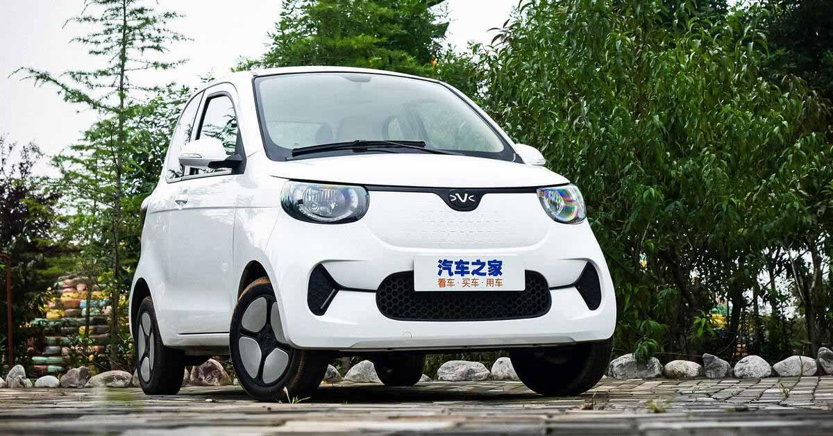 Китайцы выпустили электромобиль стоимостью 340 тысяч рублей