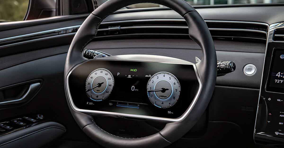 Новый Hyundai может получить руль с центральным экраном - Motor