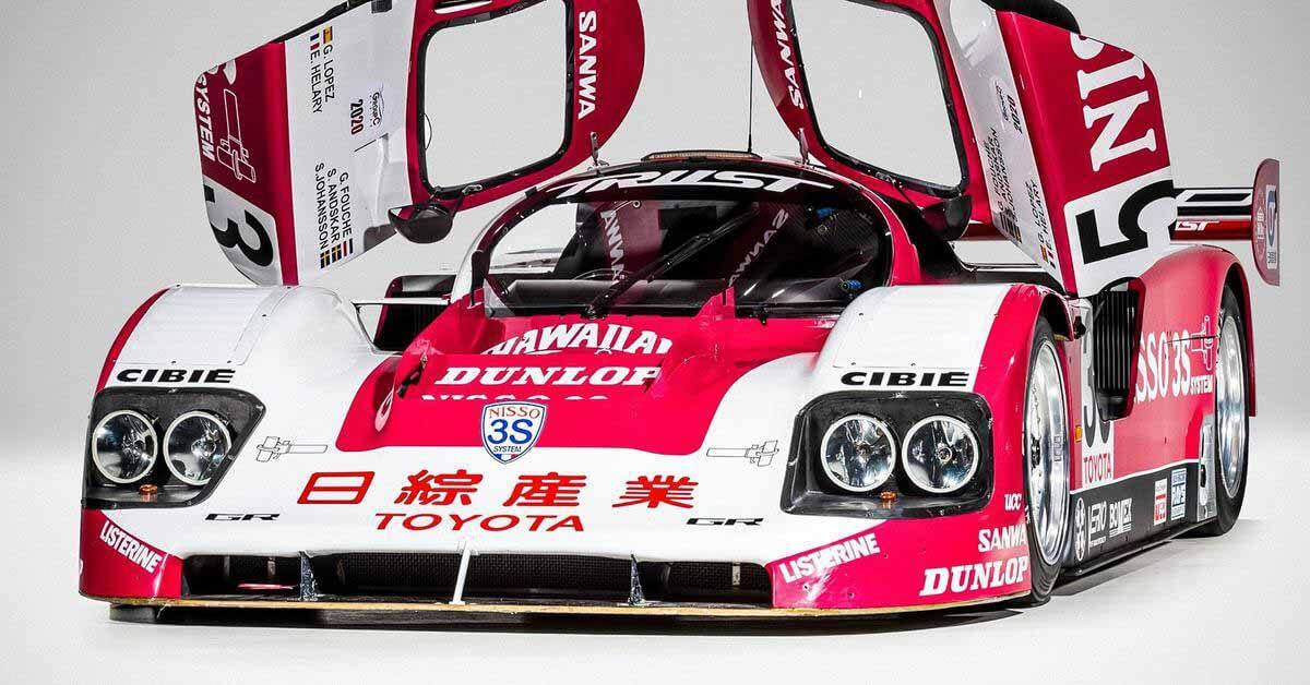 782-сильный автомобиль Toyota, трижды принимавший участие в Ле-Мане, уйдет с молотка - Motor