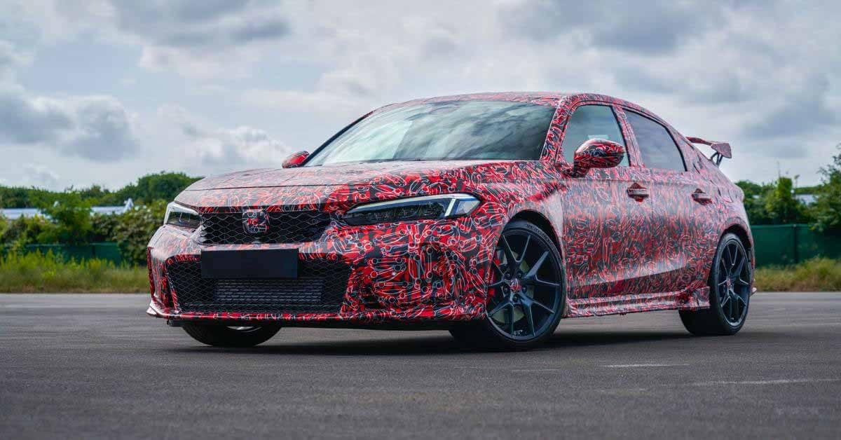 Honda представила первые фотографии нового Civic Type R - Motor