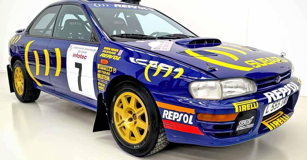 Посмотрите на гоночную Subaru Impreza за 26 миллионов рублей, найденную в сарае