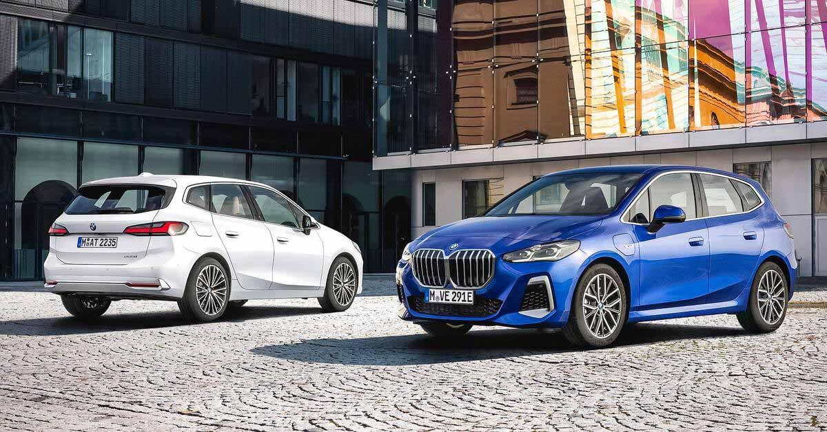 Компактвэн BMW 2-Series Active Tourer сменил поколение и обзавелся огромными «ноздрями»