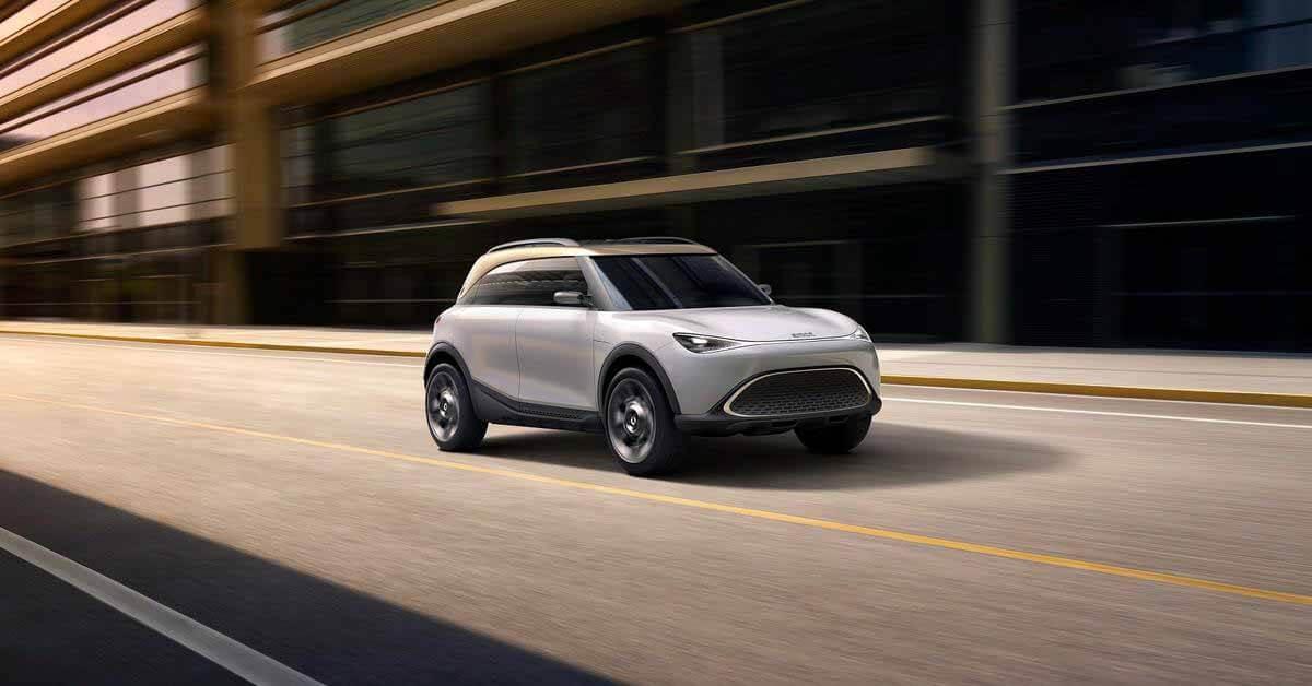 Smart готовится к запуску своего крупнейшего автомобиля за пределами Китая