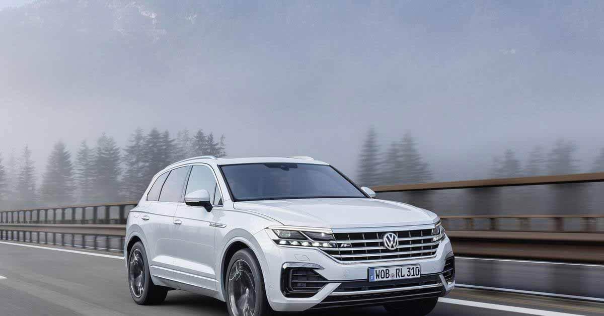 В России отозвали новый Volkswagen Touareg из-за проблем с подвеской - Motor