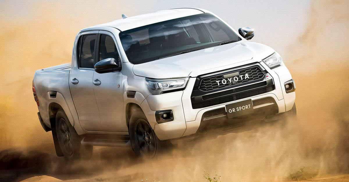 Toyota раскрыла подробности о «заряженном» Hilux GR Sport - Motor