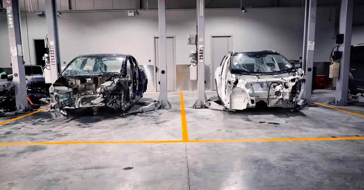Tesla Model Y и Volkswagen ID.6 Crozz отправились на краш-тест - Motor