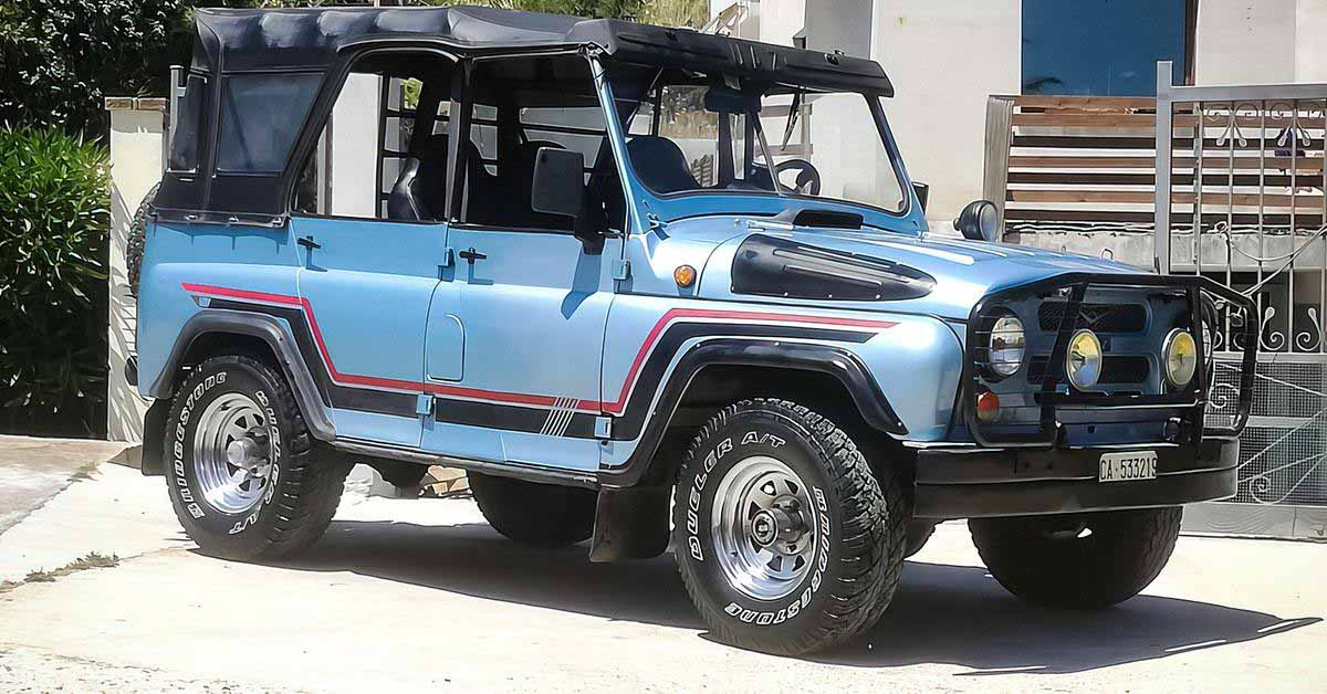 Тюнингованный 34-летний УАЗ продается в Италии по цене «Патриот» - Motor