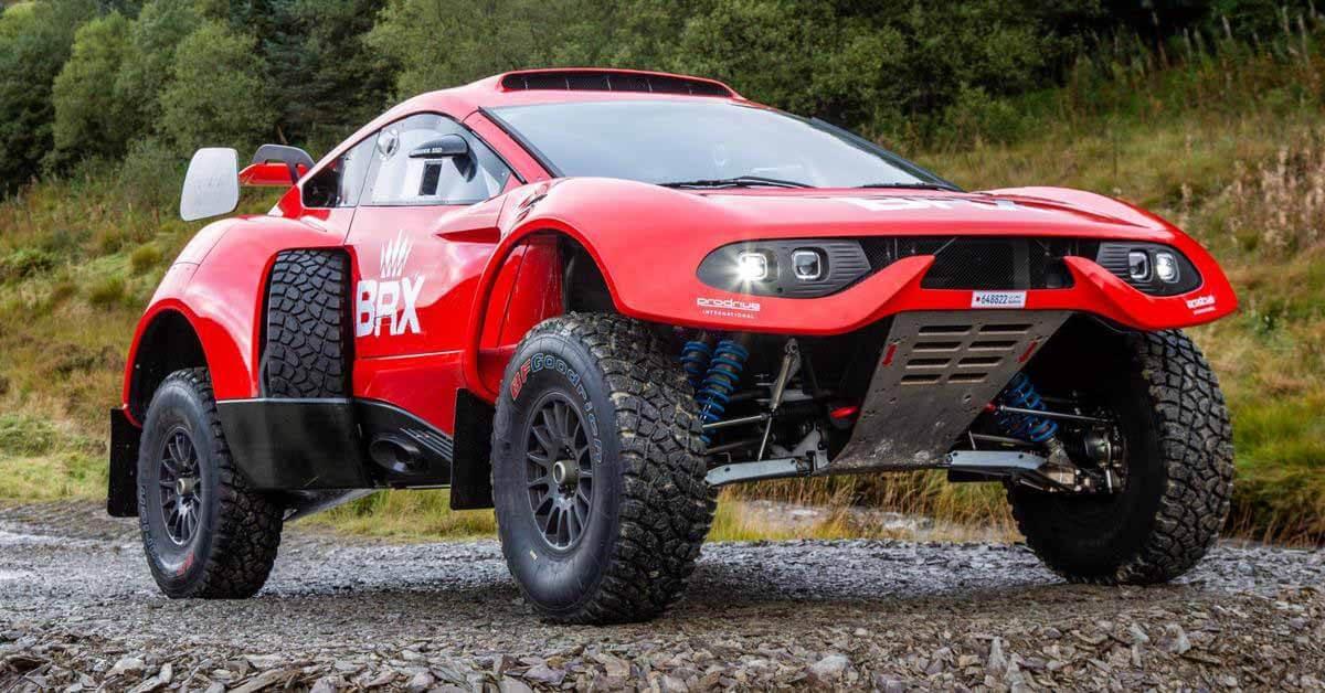 Buggy Prodrive Hunter проедет Дакар на биотопливе - Motor