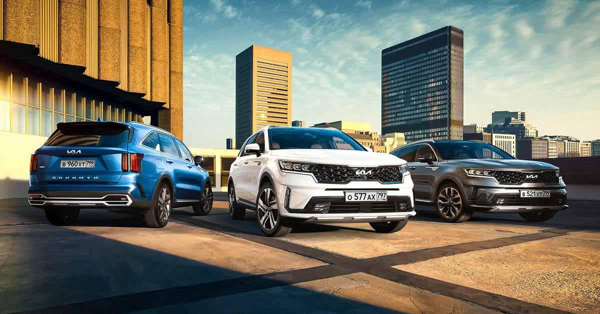 В России начались продажи улучшенного Kia Sorento с новым логотипом - Motor