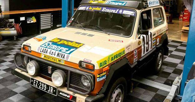 Посмотрите на самую старую Lada Niva, которая примет участие в Дакаре - Motor
